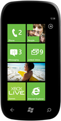 WP7 start screen