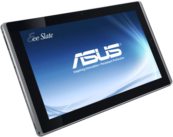 while the asus eee slate had a starring role on wednesday the slate was a repeat performer as it was also featured in the microsoft keynote during the