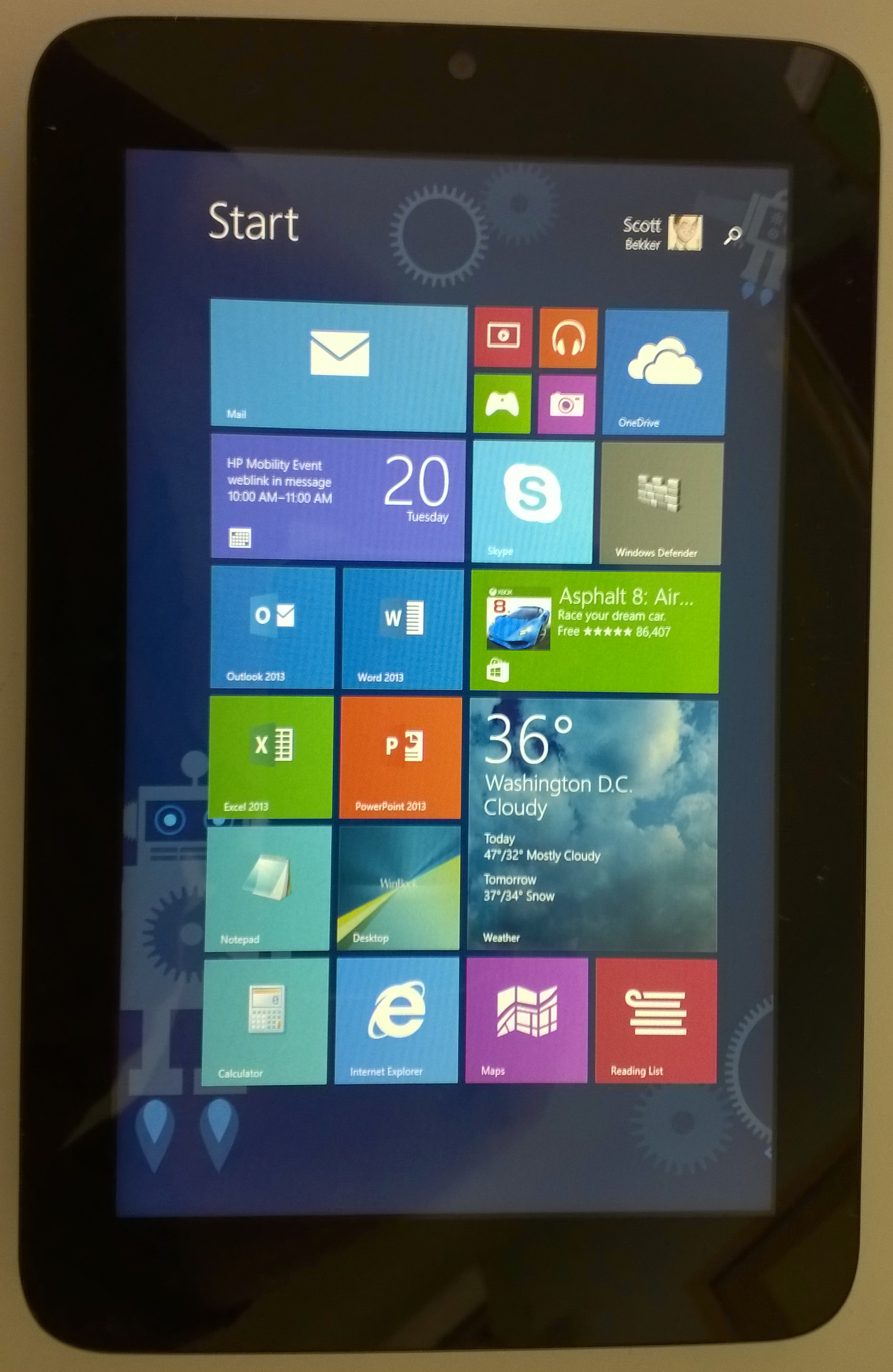 How Good Can a $60 Windows 8 1 Tablet Be? -- Redmond Channel Partner