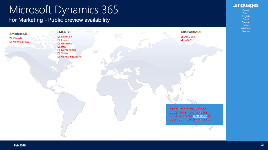 After Delay, Dynamics 365 Marketing App Hits Public Preview